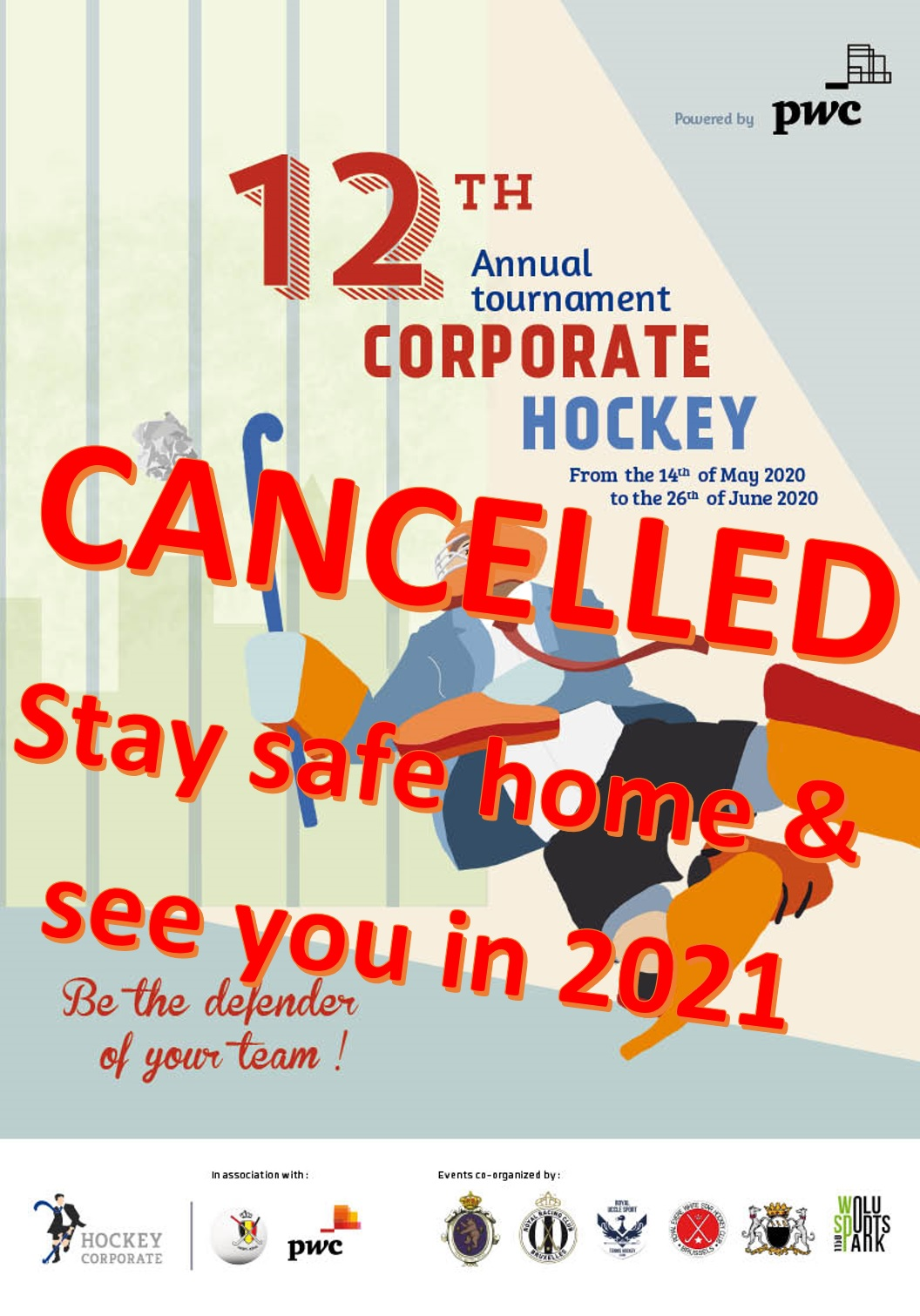 Cancellation of the 12th edition